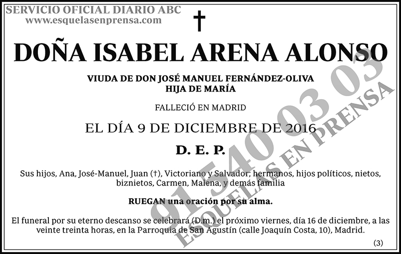 Isabel Arena Alonso